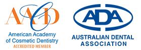 America Academy of Cosmetic Dentistry and Australian Dental Association