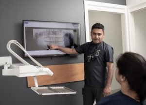 Cardiff Dental Dentist in Cardiff Dr Sumanth discuss x-ray result