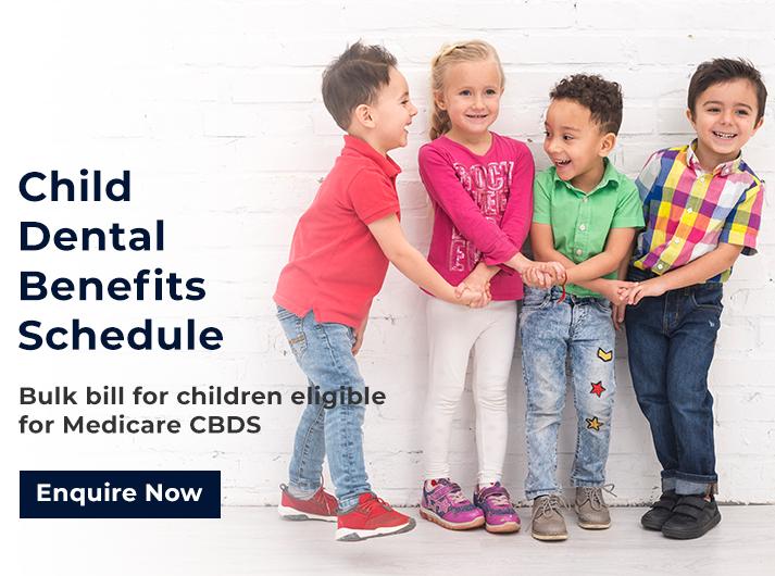 child dental benefits schedule promo banner cardiff