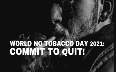 World No Tobacco Day 2021 in Cardiff: Commit to Quit!